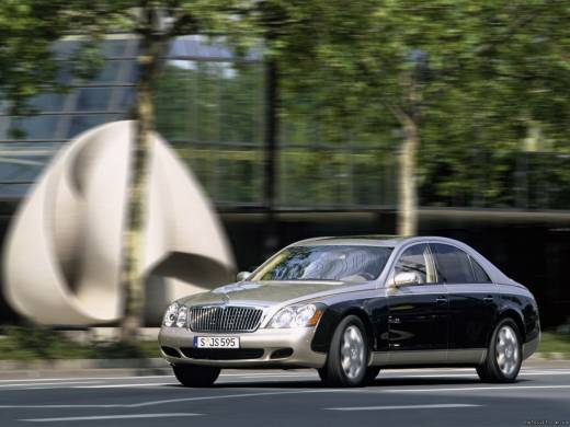 Maybach 57 5.5 i V12 bi-turbo