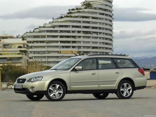 Subaru Outback 2.5i MT 4WD