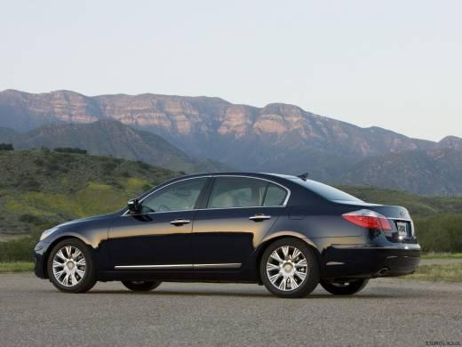 Hyundai Genesis 3.8 V6 24V