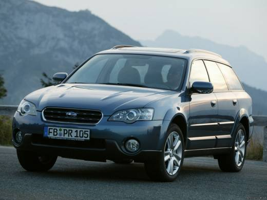 Subaru Outback 2.5i AT 4WD