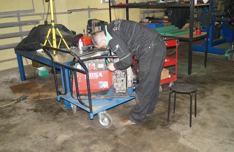 Ремонт бензиновых генераторов Honda 3