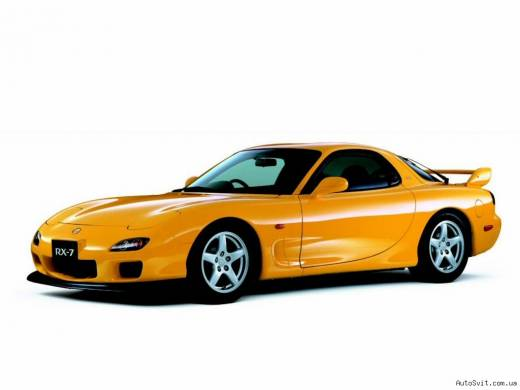 Mazda RX-7 Wankel Twin Turbo