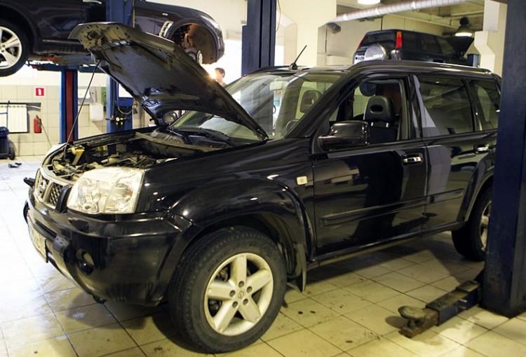 Nissan X-Trail ремонт повышенного качества